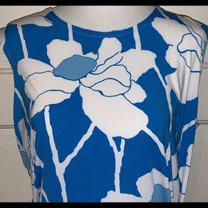 WOW! J. Mclaughlin Sz M Sleeveless Wrap Dress EUC